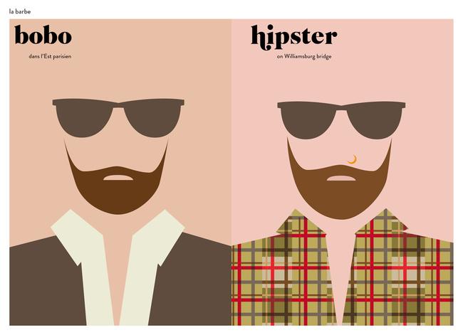 No confundamos a un Hipster con un Bobo, porfavor
