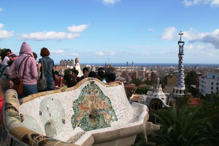 Parc Güell, las mejores vistas deBarcelona
